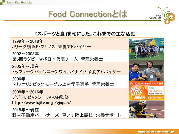 Food Coonectionとは